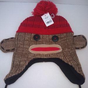 Sock Monkey Hat Laplander